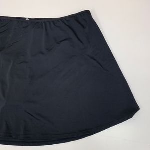 Swimsuits For All Swim - Plus Size Black Swimsuit Skort Bottoms Sz 26